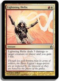 MTG Ravnica Lightning Helix FOIL