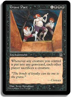 MTG Stronghold Grave Pact