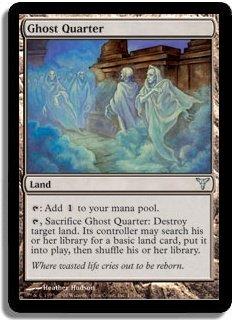 MTG Dissension Ghost Quarter