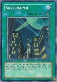 Yugioh Cybernetic Revolutions Skyscraper 1st Edition