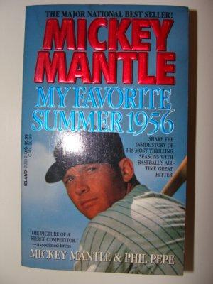 Mickey Mantle My Favorite Summer 1956