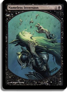 MTG DCI Textless Nameless Inversion