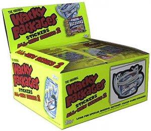Wacky Packs Series 2 Hobby Box
