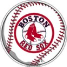 Boston Red Sox Small Round Decal