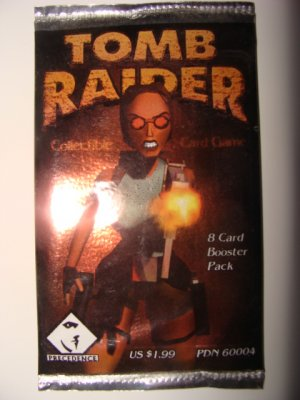 Tomb Raider Collectible Card Game Sealed Booster Pack