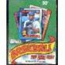 1990 Topps Baseball Unopened Box