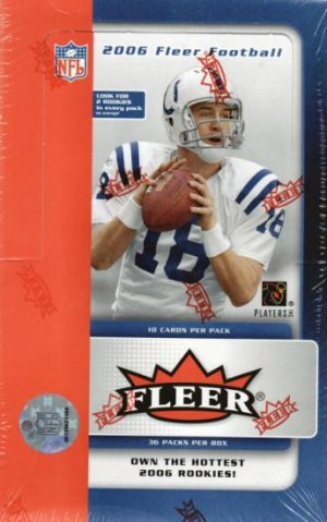 2006 Fleer Football Sealed Hobby Box