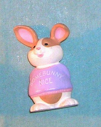 1992 Hallmark Merry Miniature Sweatshirt Bunny