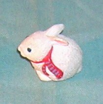 1993 Hallmark Merry Miniature White Bunny
