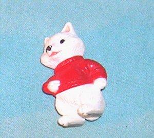 1994 Hallmark Merry Miniature Ice Skate Fox