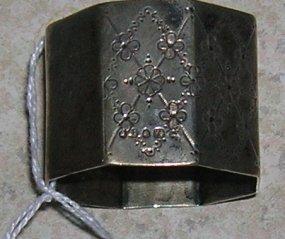 Victorian Sterling Silver Napkin Ring - Hallmarked c1874