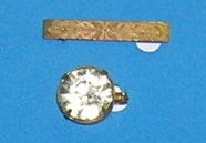 Lot of 2 Vintage scatter pins Circa early 1900s