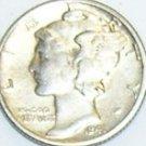 1941 Mercury Dime Tie Tack or Hat Tack Pin