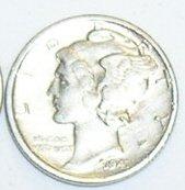 1940 Mercury Dime Tie Tack or Hat Tack Pin