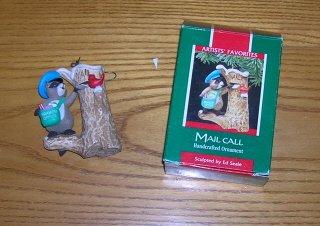 1989 Mail  Call Hallmark Ornament 1989