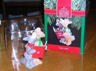 1990 Coyote Carols Hallmark Ornament
