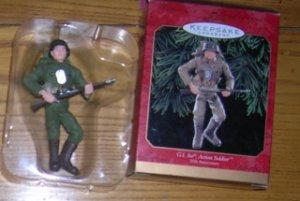 1999 GI Joe Action Soldier Hallmark Ornament