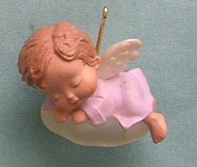1991 Iris Hallmark Ornament