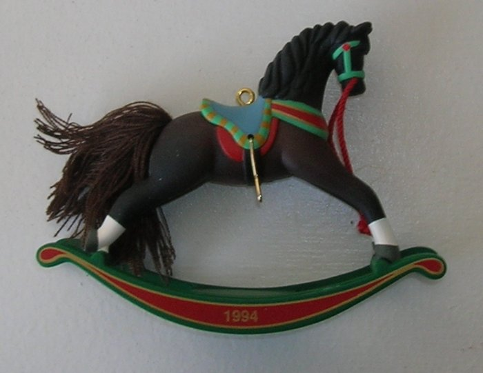 1994 Rocking Horse Hallmark Ornament
