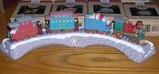1991 Claus & Co RR Set Hallmark Ornaments