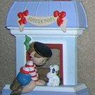1988 Windows of the World #4 Joyeux Noel Hallmark Ornament