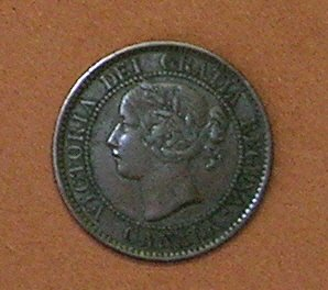 1859 Canadian Cent