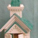 1984 Village Church Lighted Hallmark Ornament