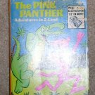 The Pink Panther Adventures in Z Land- Big Little Book