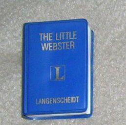 Little Webster English Dictionary - Little Book