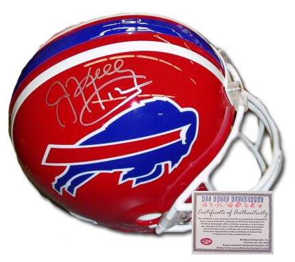 Jim Kelly Signed Mini Helmet - Replica