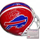 Jim Kelly Signed Mini Helmet - Replica