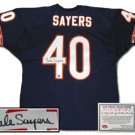 Gale Sayers Autographed Jersey - Authentic