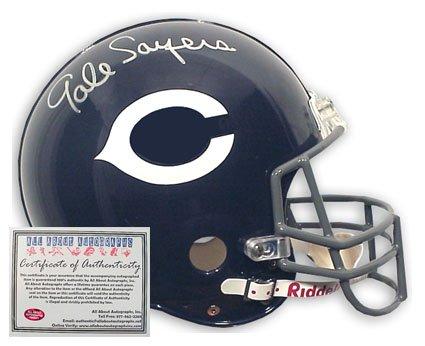 Gayle Sayers Autographed Football Helmet - Replica