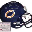 Jim McMahon Autographed Mini Helmet - Replica