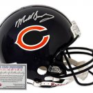 Mike Singletary Autographed Mini Helmet - Replica