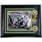 Bart Starr Autographed Ice Bowl Photo Mint