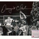 Dwight Clark Autographed Photo - 16x20 The Catch