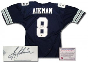 Troy Aikman Autographed Jersey - Authentic