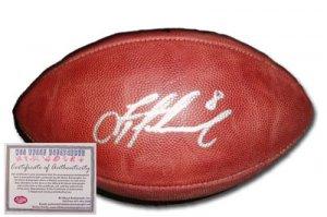 Autographed Troy Aikman Football