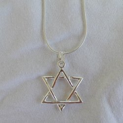 Big star of David pendant