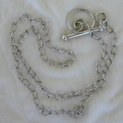 Maskit silver  necklace