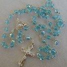 Aqua-blue rosary