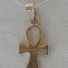 Mini Ankh silver pendant