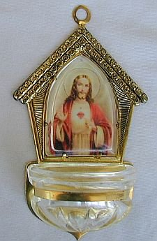 Holy water font-D