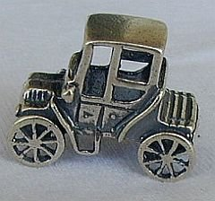 Old Ford car miniature