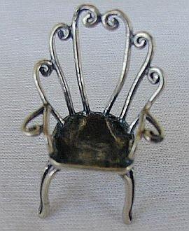 Decorative chair miniature