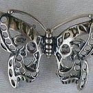 Butterfly silver miniature