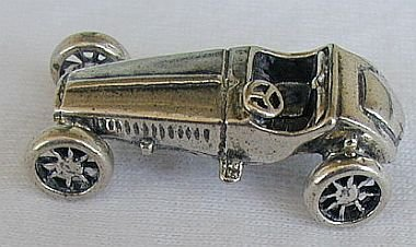 Antique racing car miniature