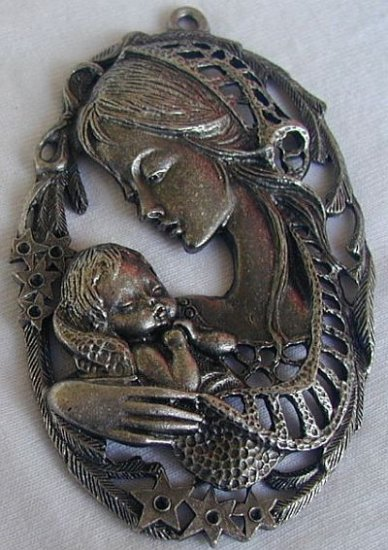 Mother and son-decorative