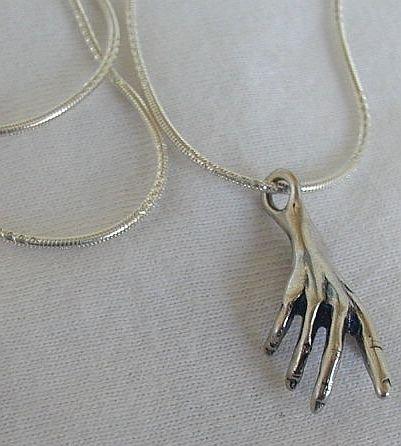 Finger pendant